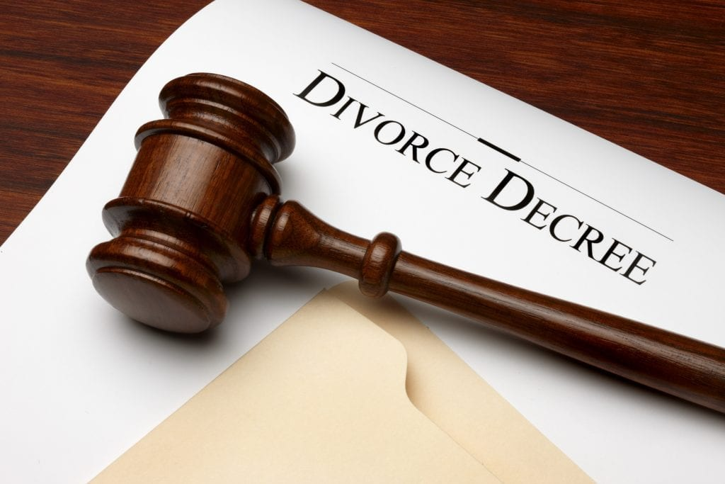 Bergen County Divorce Filing